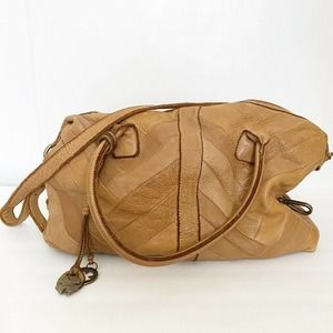 Lucky Brand Shiloh Leather Satchel Crossbody Bag